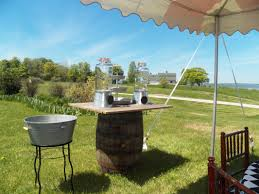 wedding and party supplies tent rental dunk tank weddings