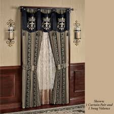 fontainebleau tailored swag valance window treatment