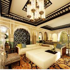 Interior Decoration For Home by White Moroccan Bedroom
