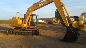 2005 john deere 120c hydraulic excavator w u0027 thumb low hours for