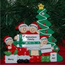 big with hair family ornament