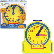 time learning clock primary time junior learning clock educational toys planet