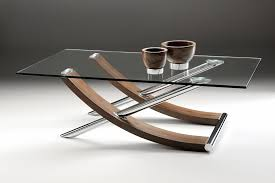 Walnut And Glass Coffee Table Coffee Table