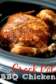 crock pot whole bbq chicken the country cook