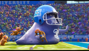 monsters university football scene