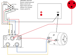 warn winch contactor wiring diagram warn wiring diagrams collection
