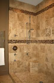 Master Bathroom Tile Designs Best 25 Glass Tile Shower Ideas On Pinterest Glass Tile