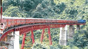 the most dangerous u0026 scenic rail route in north east india youtube