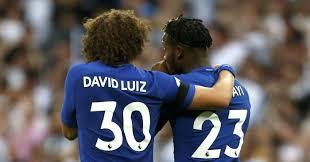 David Luiz Meme - gossip giroud luiz hazard llorente badiashile football365