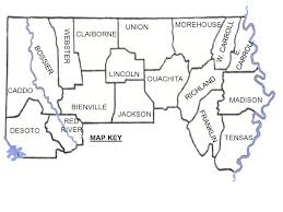 louisiana state map key louisiana all work must be in 2 pencil and pencil colors