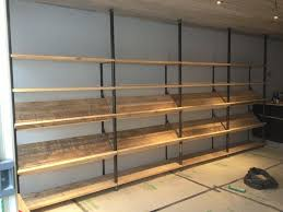 Industrial Shelving Units by 87 Best Scaffolding Shelves Images On Pinterest Industrial Pipe