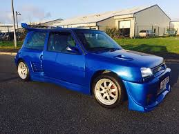 renault 5 dimma renault 5 gt turbo 13 months mot in holyhead isle
