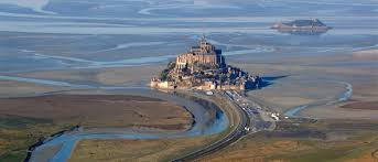chambre d h e mont michel mont michel seen from the skies hotel normandy tourism and