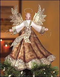 christmas tree angel the real reason there s an angel on top of the christmas tree