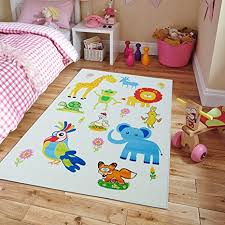 Kid Rugs Cheap New Rugs Zoo Animal Names Practice Educational