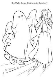 Halloween Coloring Pages Pdf by Disney Princess Halloween Coloring Pages Getcoloringpages Com