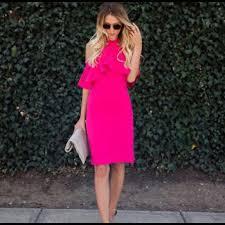 hot pink dress dresses skirts hot pink dress poshmark
