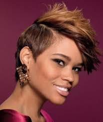 natural spike hairstyles for african american woman 22 best short natural hairstyles for black women images on