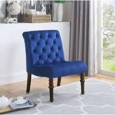 Velvet Accent Chair Navy Blue Velvet Accent Chair Wayfair