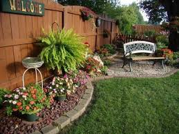 backyard planter ideas intended for home skillzmatic com
