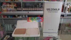 Bedak Ultima Ii Clear White ultima ii clear white 2 way foundation 10gr 03 daftar