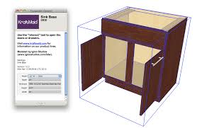 Sketchup Kitchen Design Sketchup Cabinets Plugin Bar Cabinet