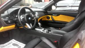 lexus alcantara interior bmw z4 interior with limited edition atacama yellow on black