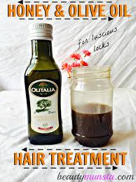 honey and olive oil hair treatment for luscious locks beautymunsta