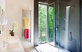 bathroom heated towel rack wall mounted for bathroom with shower