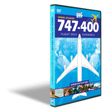 boeing 747 400 virgin atlantic dvd