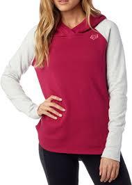fox motocross sweatshirts fox mtb fox deduction zip womens hoodie hoodies u0026 pullover