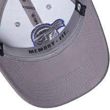 seton hat men s top of the world gray seton dynasty fitted hat