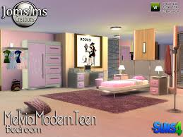 Teen Bedroom Sets - jomsims u0027 melvia modern teen bedroom