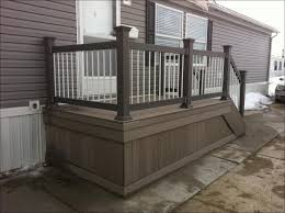 Estimated Cost To Build A Deck by Outdoor Deck Railing Designs Home Depot Plastic Decking Home