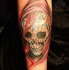 pin skull tattoos grim reaper deer sugar bull pictures on
