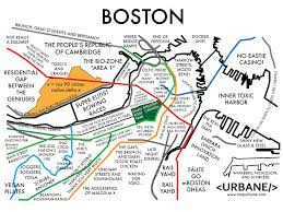 Green Line Boston Map by Urbane U0027s Map Of Boston Pretty Spot On I U0027d Say Boston