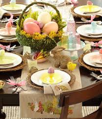 tabletop ideas easter party easter and easter table