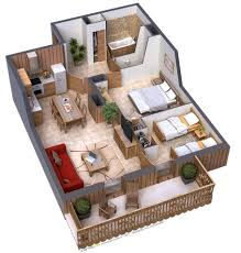 Floor Plan Of Two Bedroom House by When The Two Bedrooms In This Sort Of Design Are Placed Next To