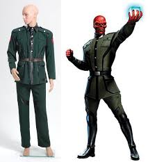 halloween costumes captain america captain america red skull costume jacket pants dark green custom