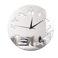 la chambre du sexe 10 pouces 12 pouces appeal position horloge murale chambre