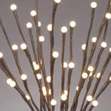 lighted branches led lighted branches 20 brown branch battery operated w timer 60