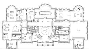 ground main living floor plan of a 56 000 square foot home by