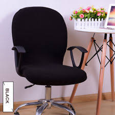 computer chair covers black seat cover office computer chair slipcover ebay