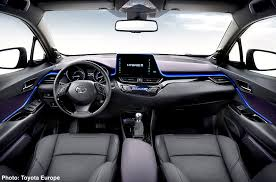 New C Carnichiwa 2017 Toyota C Hr Preview U2013 Interior Revealed In