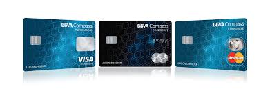 corporate cards bbva compass