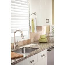 moen ca87003srs annabelle spot resistant stainless steel pullout