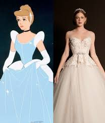 Cinderella Wedding Dresses Modern Wedding Dresses For Every Disney Princess Wedding Dresses