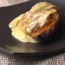 cuisiner la patate douce recettes recette patates douces farcies au munster cuisine madame figaro
