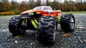 rc monster truck nitro trinity spyder monster 1 7 nitro rc youtube