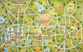 Dallas Area Code Map by Dfw City Directory Dallas Fort Worth City Guide